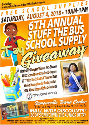 AUSD: Stuff the Bus School Supply Giveaway - Local Business